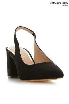 Head Over Heels Block Heel Slingback Court