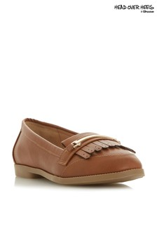 Head Over Heels Metal Trim Fringe Loafer