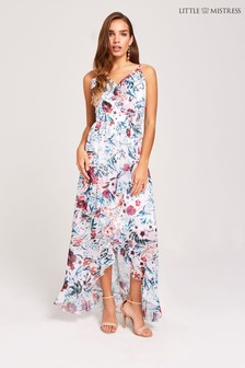 Little Mistress Floral Print Dress