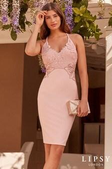 Облегающее платье миди Lipsy с аппликацией