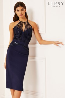 c87ea123 Sequin Midi Dresses | Midi Dresses With Sequins & Sparkles | Next