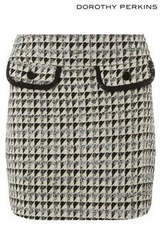 Dorothy Perkins Petite Boucle Skirt