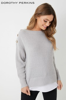 2b99929ea2111e Buy Women s knitwear Knitwear Crewneck Crewneck Grey Grey Jumpers ...