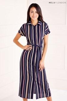 Mela London Maxi Shirt Dress
