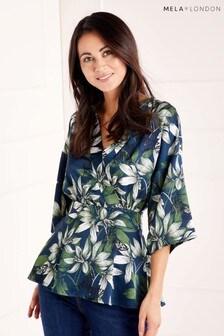 Chemisier Mela London motif floral