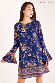 Mela London Border Print Tunic Dress