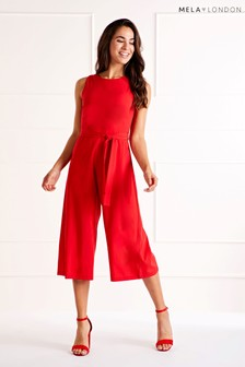 Mela London Belted Culotte Jumpsuit