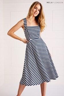 Mela London Striped Dress