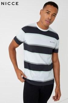 NICCE Striped Colour Block T-Shirt