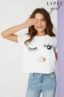 Lipsy Eyelash Girl Tee