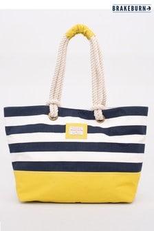 Brakeburn Block Stripe Beach Bag