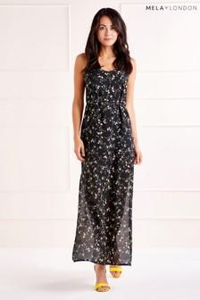 Mela London Ditzy Print Maxi Dress