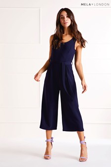 Mela London Stretch Culotte Jumpsuit
