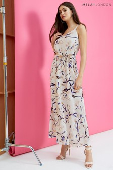 Mela London Calm Print Maxi Dress