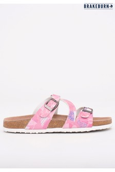 Brakeburn Shells Crossover Sandals