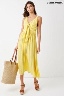 Платье миди без рукавов Vero Moda