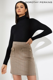 Dorothy Perkins Geo Trim Pocket Mini Skirt