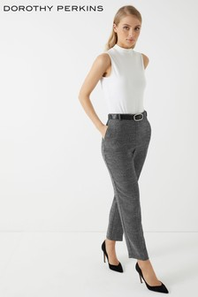 Dorothy Perkins Belted Twill Trouser