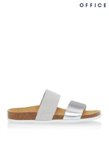 Office Suede Sandal