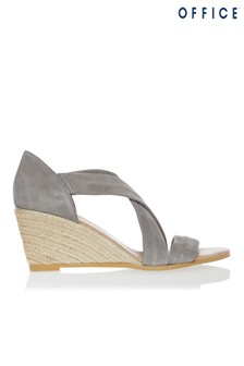 Office Espadrille Heeled Sandals