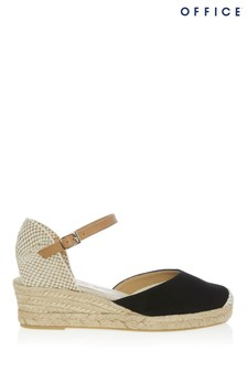 Office Heeled Espadrille Wedge
