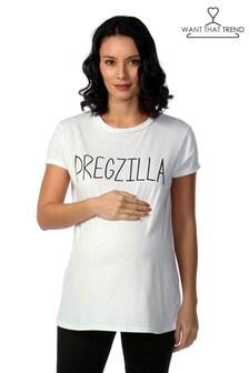 חולצת טי Pregzilla להריון של Want That Trend