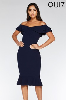 Quiz Bardot Midi Dress
