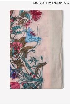 Dorothy Perkins Floral Border Scarf