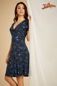 Joe Browns Kleid mit Winterblumenmuster