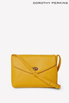 Dorothy Perkins Twistlock Crossbody Bag