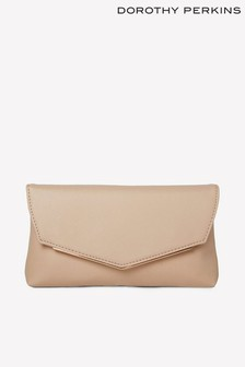 Dorothy Perkins Metal Bar Clutch Bag