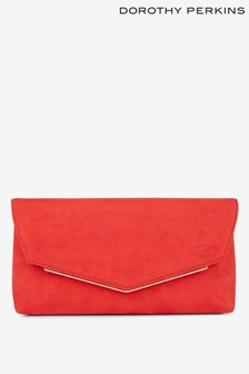 Dorothy Perkins V Metal Bar Clutch