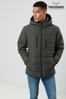 Threadbare Hooded Parka Jacket