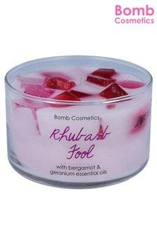 Bomb Cosmetics Rhubarb Fool Jelly Candle