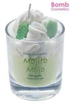 Bomb Costmetics Mojito Mojo Piped Candle