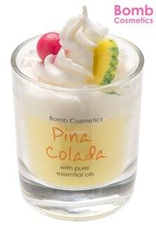 Bomb Costmetics Pina Colada Piped Candle