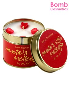 Bomb Cosmetics Santas Little Melter Tinned Candle