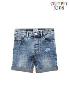 Outfit Kids Mid Wash Denim Short