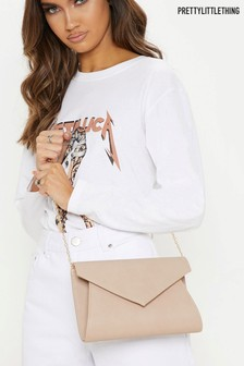 PrettyLittleThing Envelope Clutch Bag