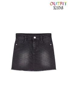 Черная джинсовая юбка Outfit Kids
