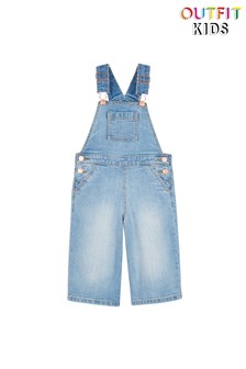 Outfit Kids Culotte Denim Dungarees