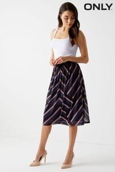 Only Mesh Midi Skirt