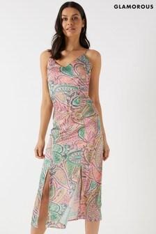157ddfd2cb Glamorous Paisley Dress