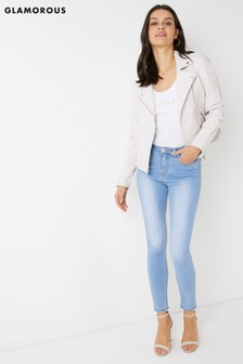 Glamorous Skinny-Jeans mit hoher Taille