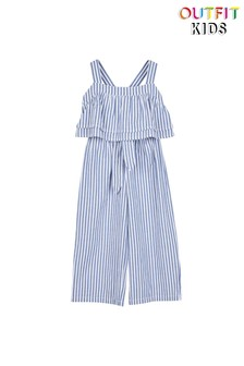 Outfit Kids Chambray Stripe Set