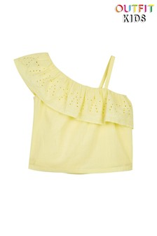 Outfit Kids Brodierie Ruffle Top