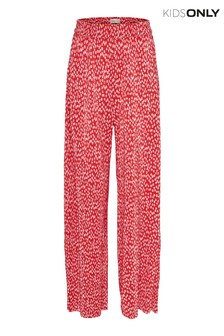 Only Kids Printed Trousers