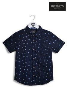 Threadboys Palm Print Shirt