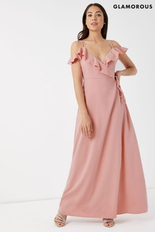 Glamorous Silky Maxi Dress