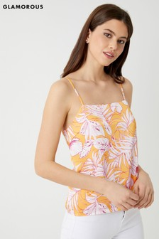 Glamorous Floral Cami Top